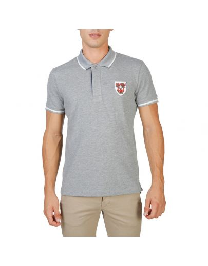Oxford University QUEENS-POLO-MM-GREY