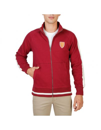 Oxford University ORIEL-FULLZIP-RED