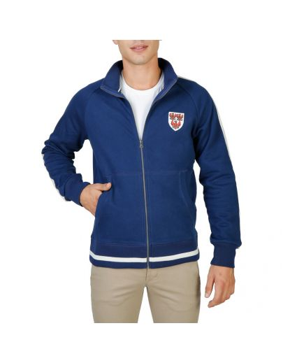 Oxford University QUEENS-FULLZIP-NAVY