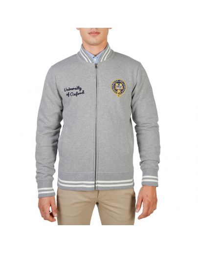 Oxford University OXFORD-FLEECE-TEDDY-GREY