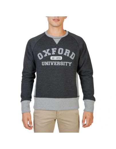 Oxford University OXFORD-FLEECE-RAGLAN-GREY