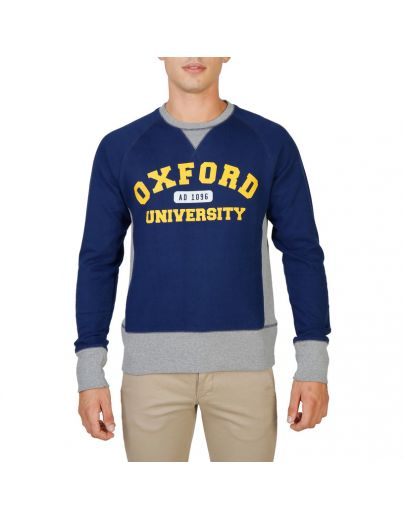 Oxford University OXFORD-FLEECE-RAGLAN-NAVY