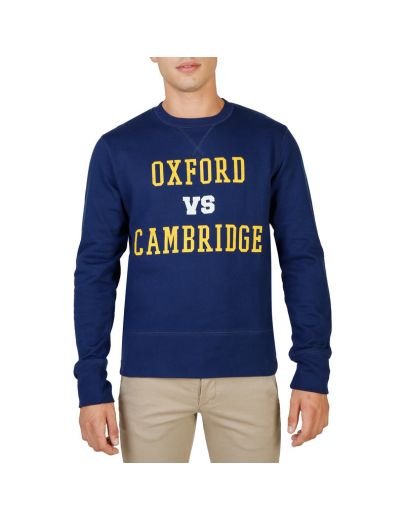 Oxford University OXFORD-FLEECE-CREWNECK-NAVY