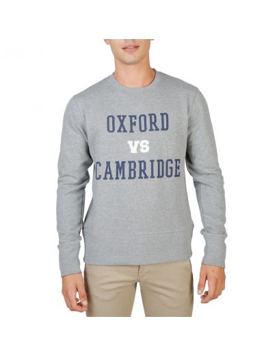 Oxford University OXFORD-FLEECE-CREWNECK-GREY